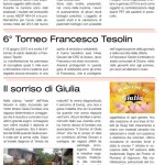 Sesto torneo Francesco Tesolin